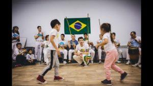 Капоэйра Уфа: детская тренировка с CM Corisco